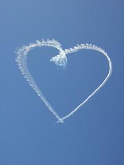 Success Story Sky Writing Heart